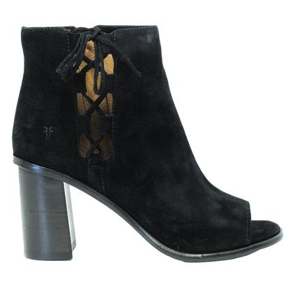 Frye Boots Womens Amy Side Ghilie Black Boot