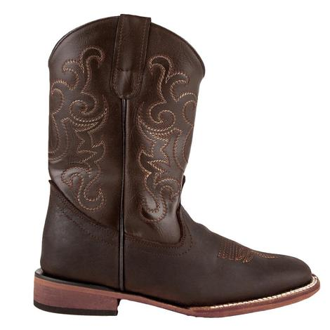Ferrini Maverick Chocolate Leather Kid Boots
