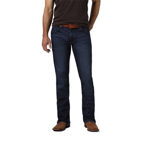 Wrangler Retro Slim Boot Dark Wash Jeans