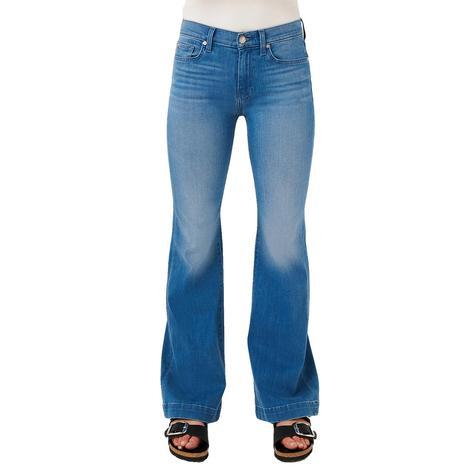7 For All Mankind Surf Blue Dojo Women's Jeans