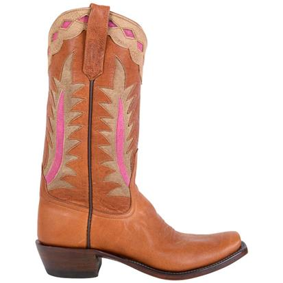 Rios Of Mercedes Womens Goat Tag Boots - Bubble Gum