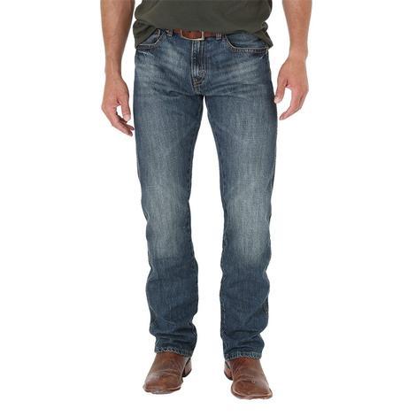 Wrangler Retro Dark Knight Slim Stright Leg Men's Jeans