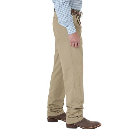Wrangler Mens Riata Pleated Dress/Casual Slacks – Goldenrod
