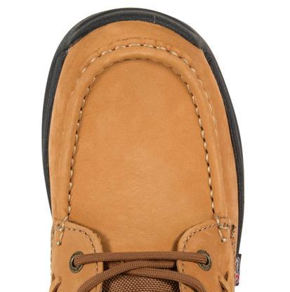 Justin Mens Tan Rodeo Cloth Chukka Lace-Up Work Boots