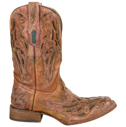 Corral Mens Premium Leather Western Boots