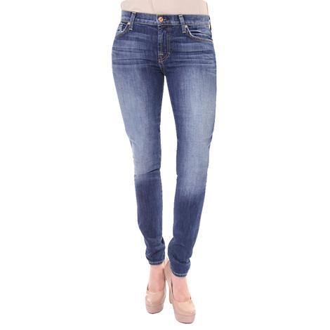 7 For All Mankind Womens The Skinny Squiggle Jeans