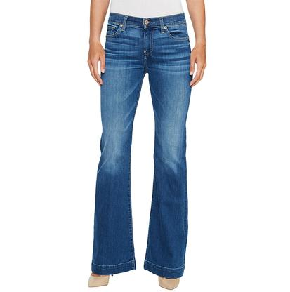 7 For All Mankind Womens Dojo In Bella Heritage Jeans