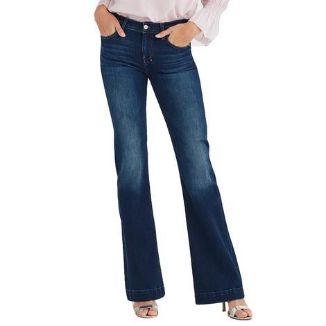 7 for All Mankind Dark Wash Moreno Dojo Trouser Jeans