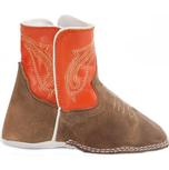 Anderson Bean Orange Baby Beans Square Toe Boots