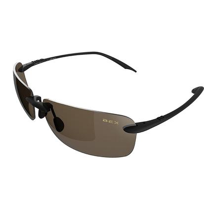Bex Jaxyn III Sunglasses - Black/Brown