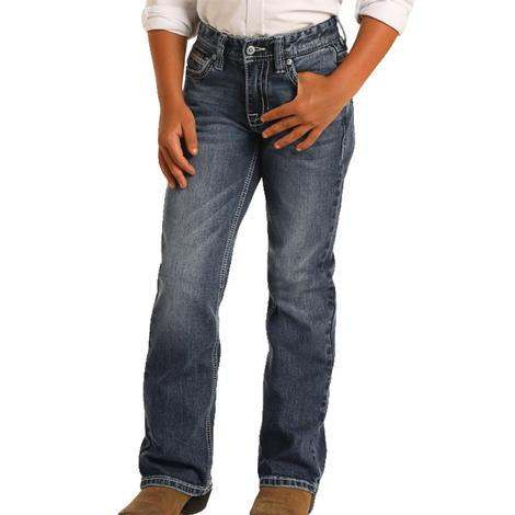 Rock and Roll Cowboy Darkwash Boy's Jeans