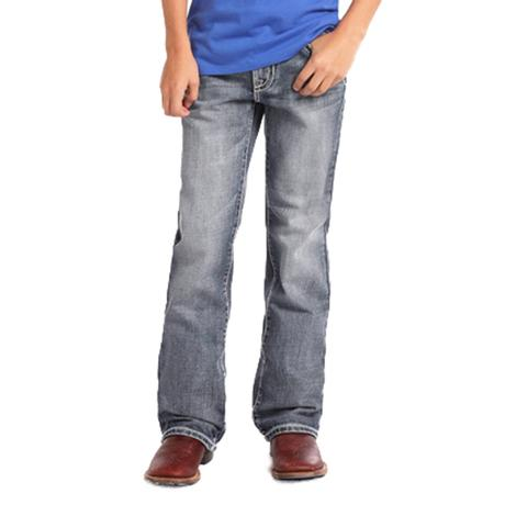 Rock and Roll Cowboy Youth Double Barrel Medium Vintage Jeans