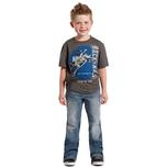 Rock & Roll Cowboy Boys BB Gun Boot Cut Jeans