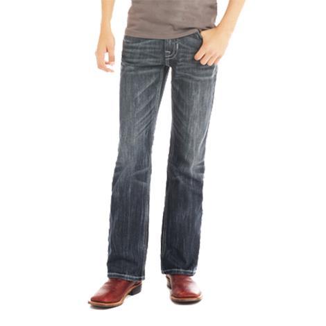 Rock and Roll Cowboy Boys Dark Wash Reflex Jeans