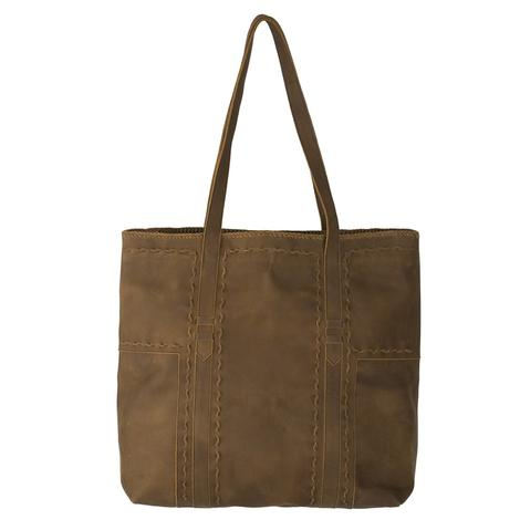 Lane Boots Robin Inlay Hazel Brown Tote