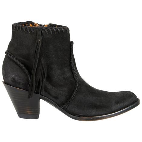 Old Gringo Womens Adela Black Suede Boots