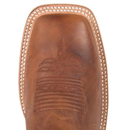 Justin Mens Bent Rail Square Toe Cowboy Boot
