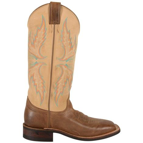 Justin Womens Bent Rail Arizona Mocha Boots