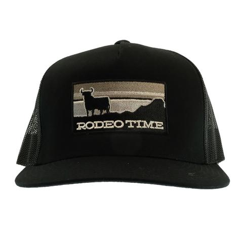 Dale Brisby Rodeo Time Sunset Inverse Black Cap
