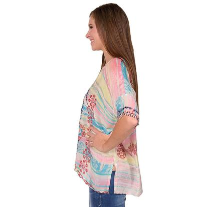 Johnny Was Womens Bay Dolman Poncho