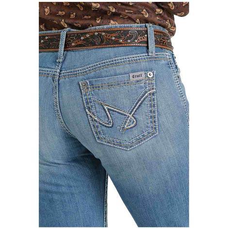Cruel Girl Jayley Light Wash Women's Trouser Jeans