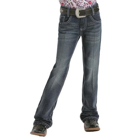 Cruel Girl Mila Slim Fit Dark Wash Girl's Jeans