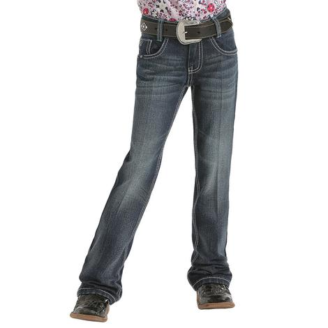 Cruel Girl Mila Regular Fit Dark Wash Girl's Jeans