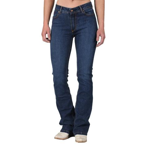 Kimes Ranch Chloe Mid Rise Flare Leg Women's Jeans