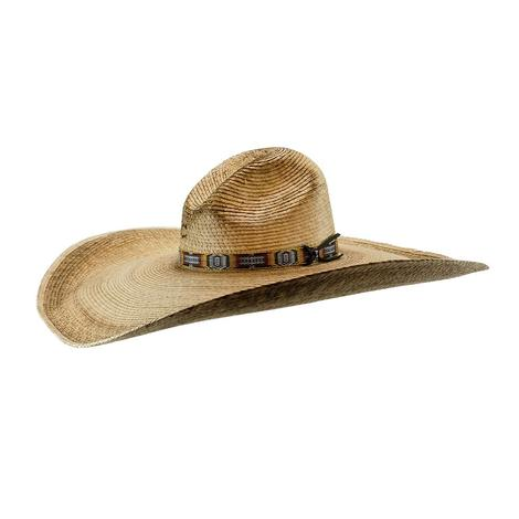 Charlie 1 Horse Coyote 7inch Brim Burned Straw Hat