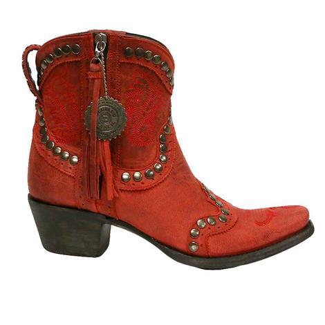 Double D Womens Garcitas Half Pint Western Boots