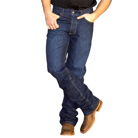 Kimes Ranch Mid Low Rise Relaxed Thigh Wide Boot Cut Men's Jean