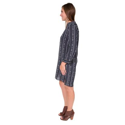 Dear John Denim Womens Vanessa Navy and White Dress