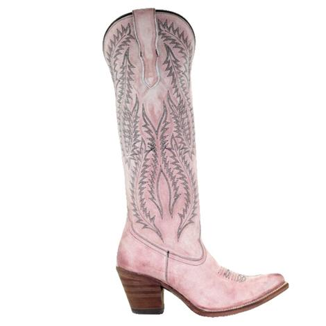 Corral Rose Embroidered Tall Top Women's Boots