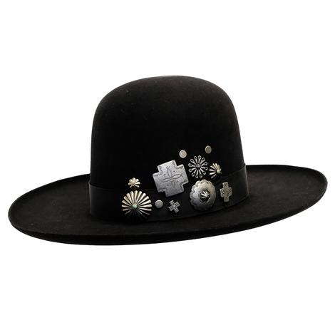 Double D Ranch Old Pawn Black Felt Hat