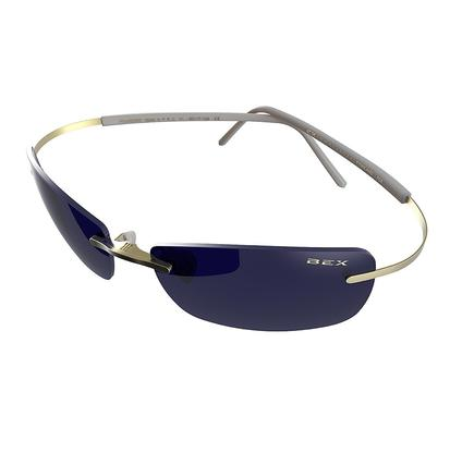 Bex Fynnland Sunglasses - Gold/Blue