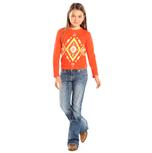 Rock & Roll Cowgirl Girls Medium Wash Kids Jeans