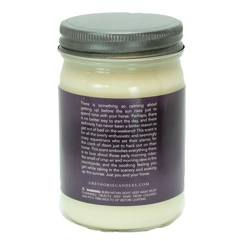 Grey Horse Early Morning Hack Soy Candle