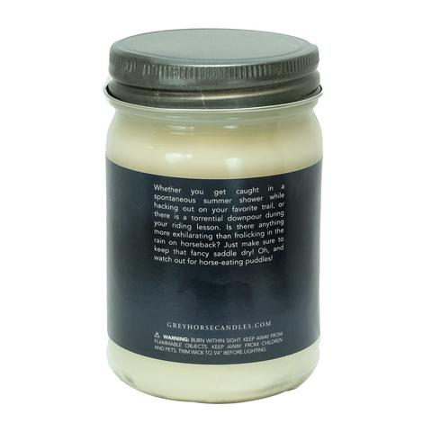 Grey Horse Rainy Day Ride Soy Candle