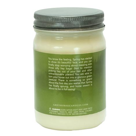 Grey Horse Spring Pasture Soy Candle