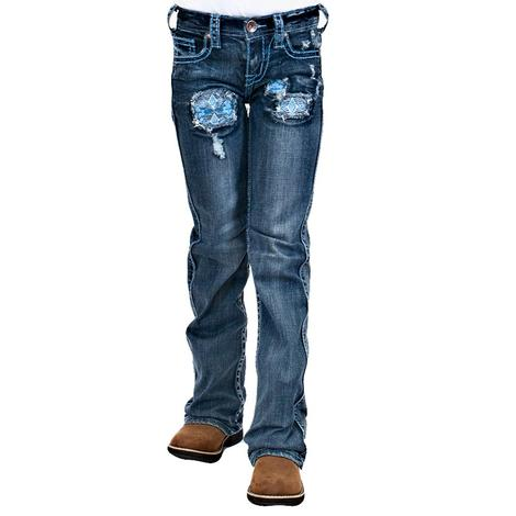 Cowgirl Tuff River Rock Jeans