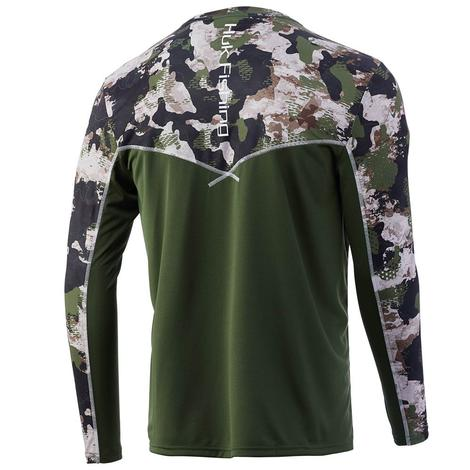 HUK ICON X Refraction Shirt-Refraction Hunt Club Long Sleeve Men's Shirt