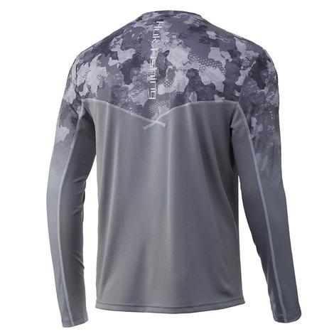 HUK Icon X KC Refraction Camo Fade Long Sleeve Men's Shirt