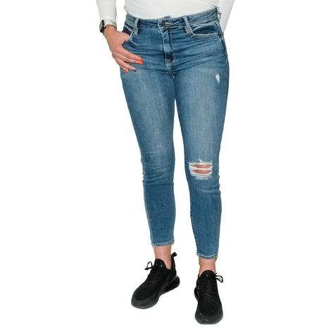 HIdden Jeans Dark Wash High Rise Super Stretch Skinny
