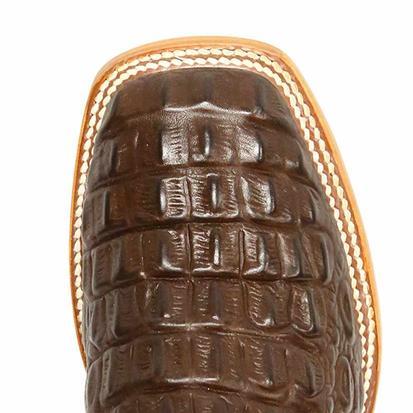 Anderson Bean Boys Horse Power Chocolate Nile Western Cowboy Boots
