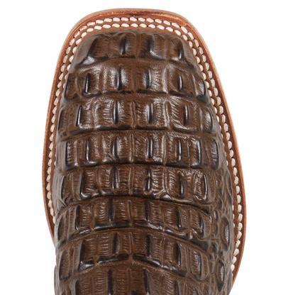Horse Power Kids' Chocolate Nile Croc Print Boot