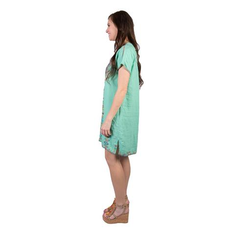 Johnny Was Womens Velsia Easy Tunic Dress