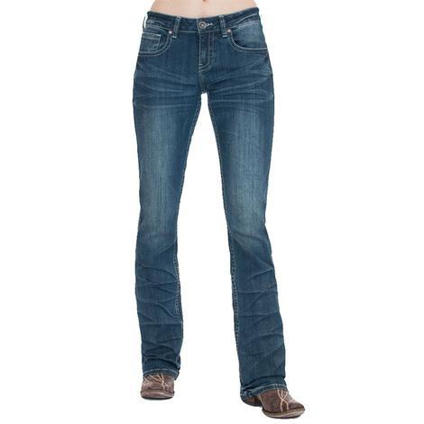 Cowgirl Tuff Classic Mustang Natural Waist Women's Jean