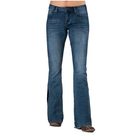 Cowgirl Tuff Livin on the Edge Women's Trouser Jeans