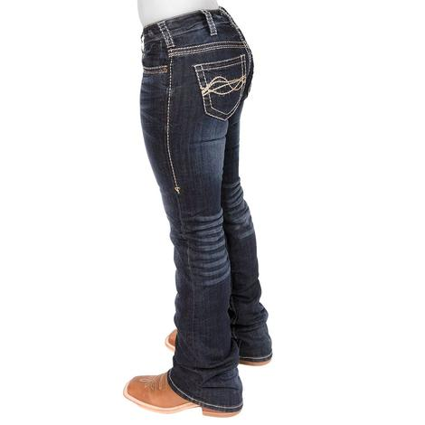 Cowgirl Tuff No Limits Dark Wash Jeans