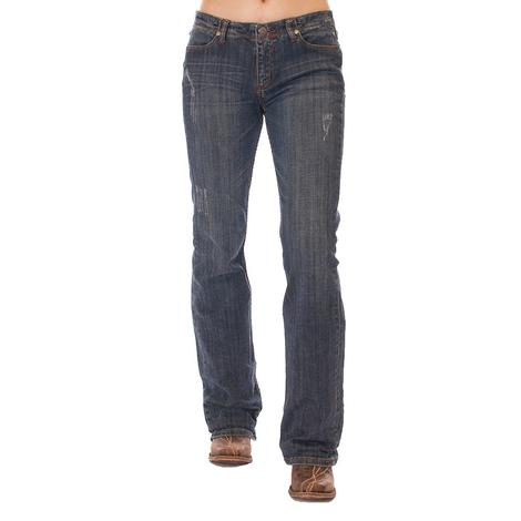 Cowgirl Tuff Womens Outlaw Classic Western Jeans